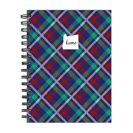 Tf Publishing Oregon Plaid Journal, One Size , Multiple Colors