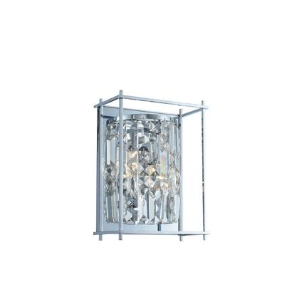 Joni 036120-010-FR001 Small Wall Sconce in Chrome Finish with Firenze
