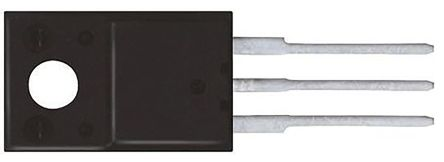 ON Semiconductor N-Channel MOSFET, 3.3 A, 800 V, 3-Pin TO-220F  FQPF6N80T (5)