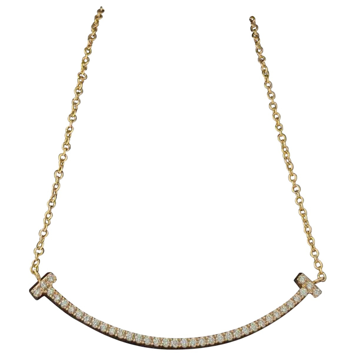 Tiffany & Co Tiffany T Kette in Rosegold