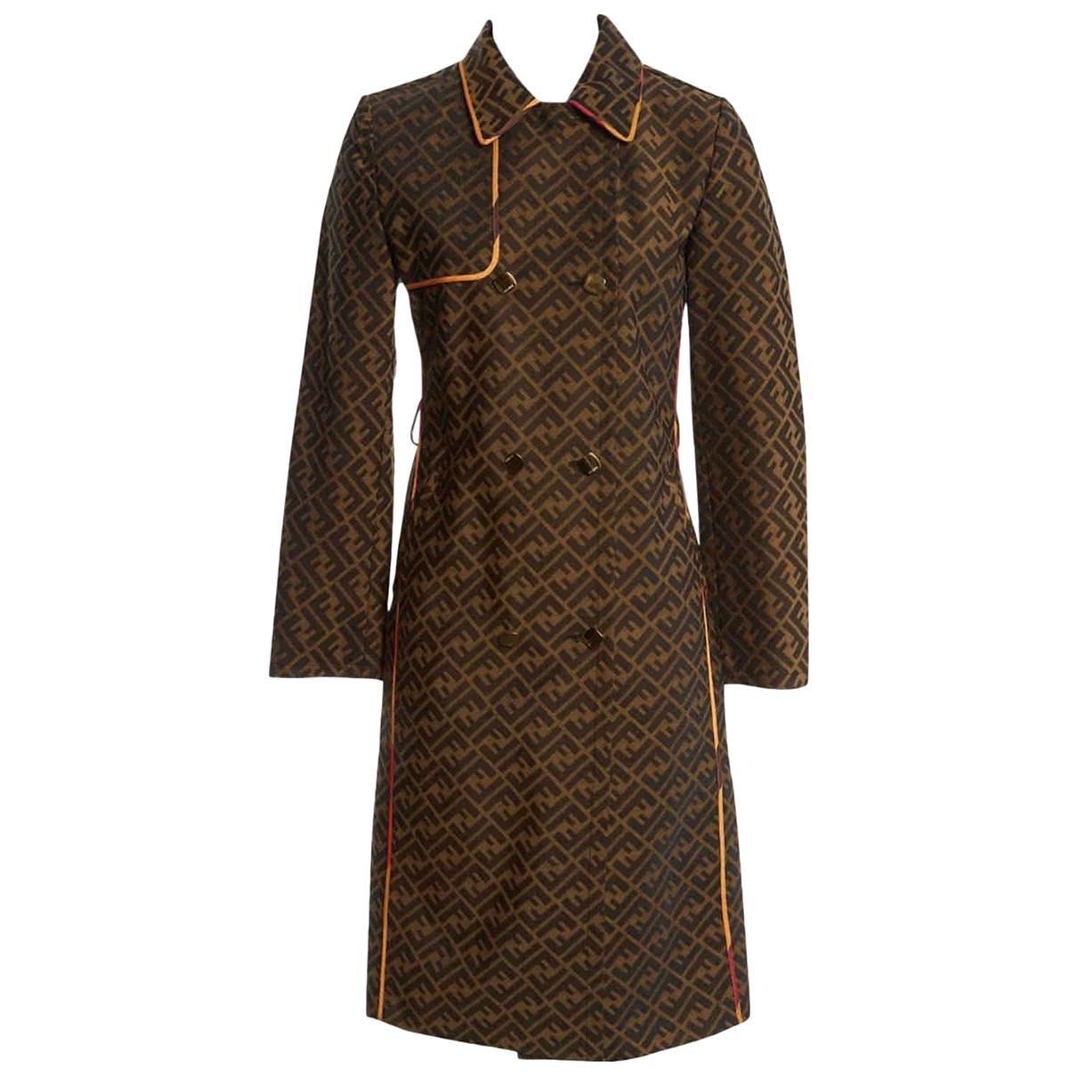 Fendi N Brown coat for Women 40 IT