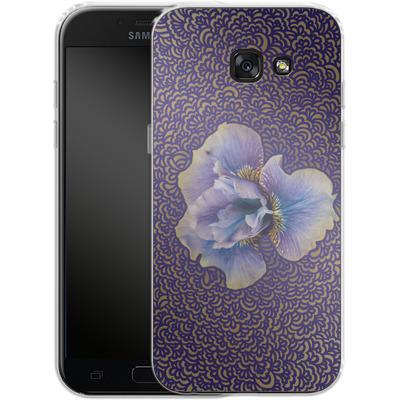 Samsung Galaxy A5 (2017) Silikon Handyhuelle - Iris Drawing Meditation von Kaitlyn Parker