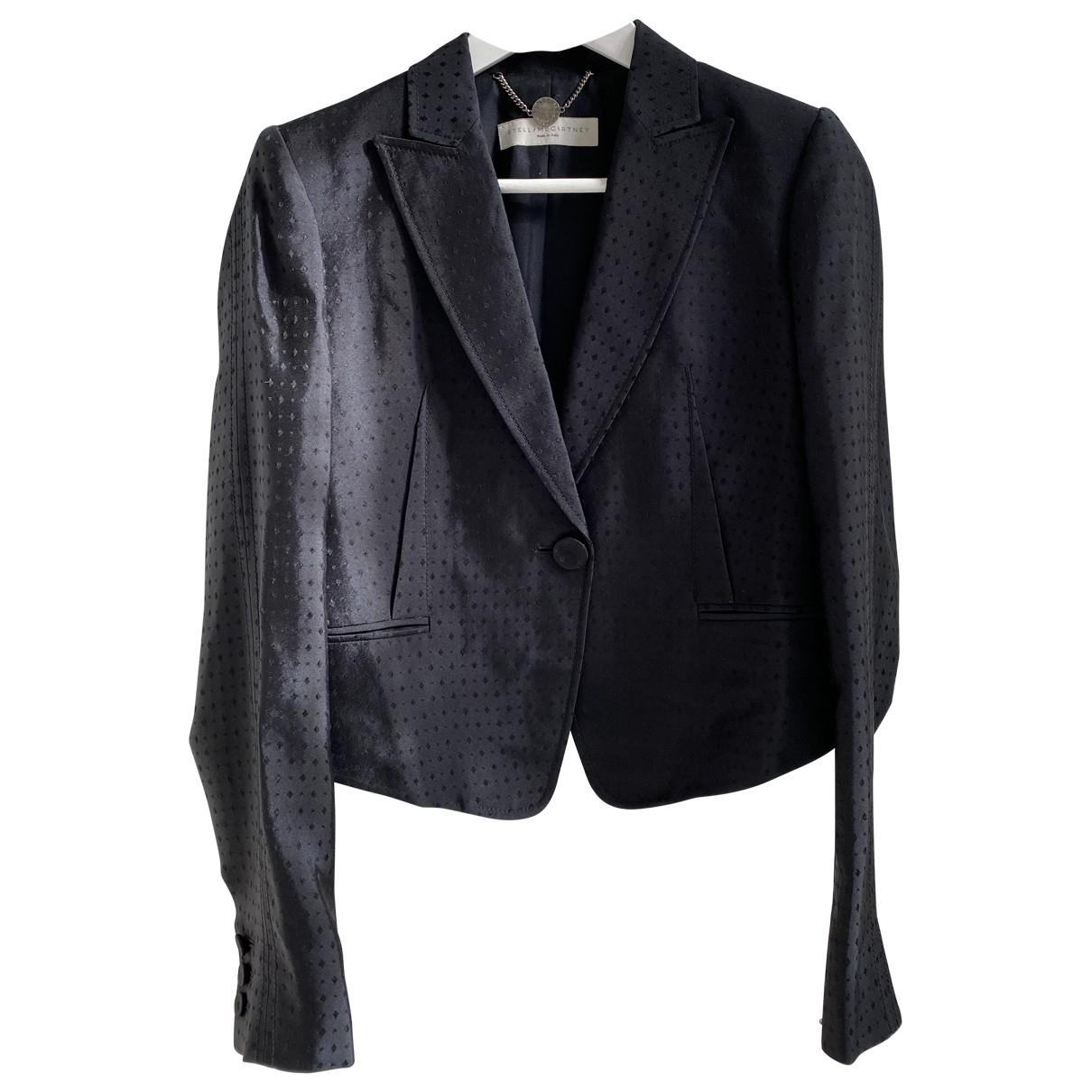 Stella Mccartney - Veste   pour femme en soie - noir