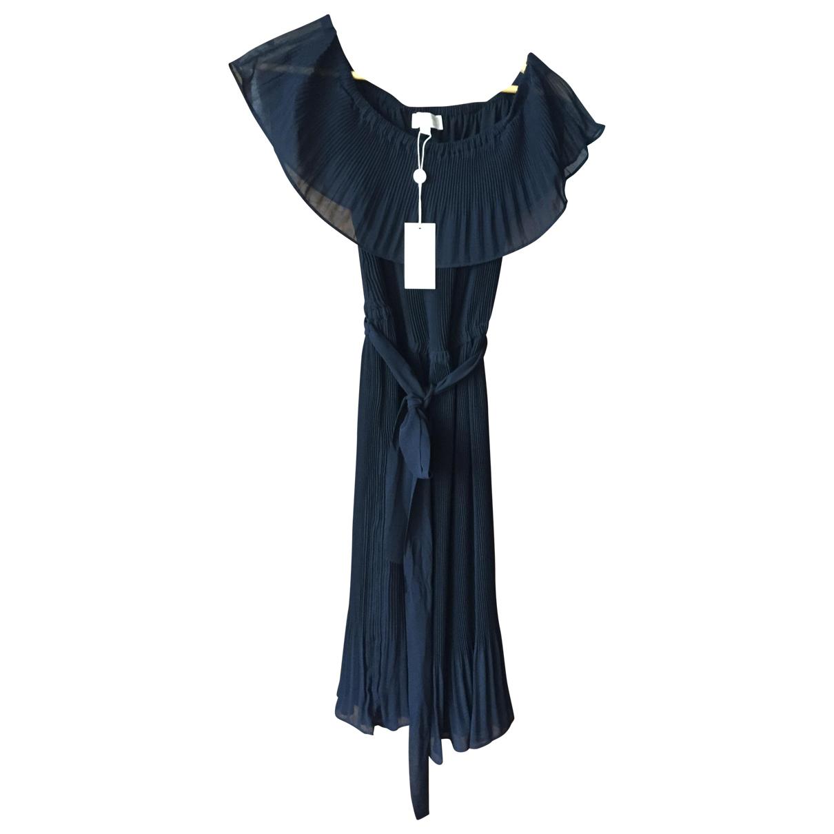 Michael Kors \N Kleid in  Schwarz Synthetik