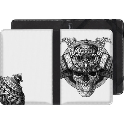 Amazon Kindle Paperwhite eBook Reader Huelle - Samurai Skull von BIOWORKZ