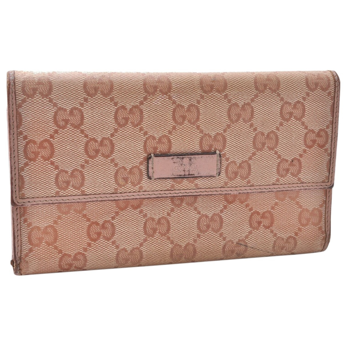 Gucci N Pink Cloth wallet for Women N