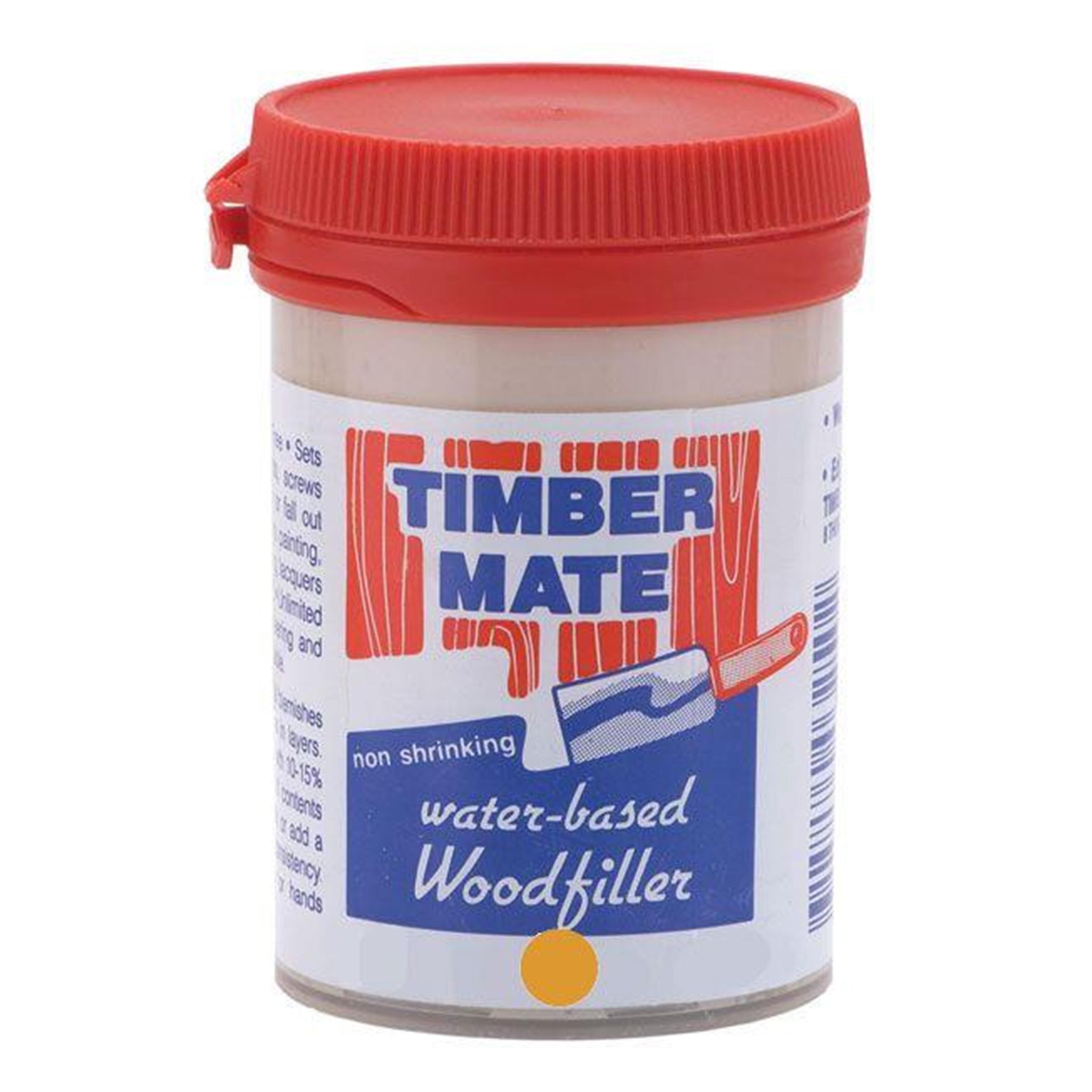 Teak and Heart Pine Filler Water Based 8 oz