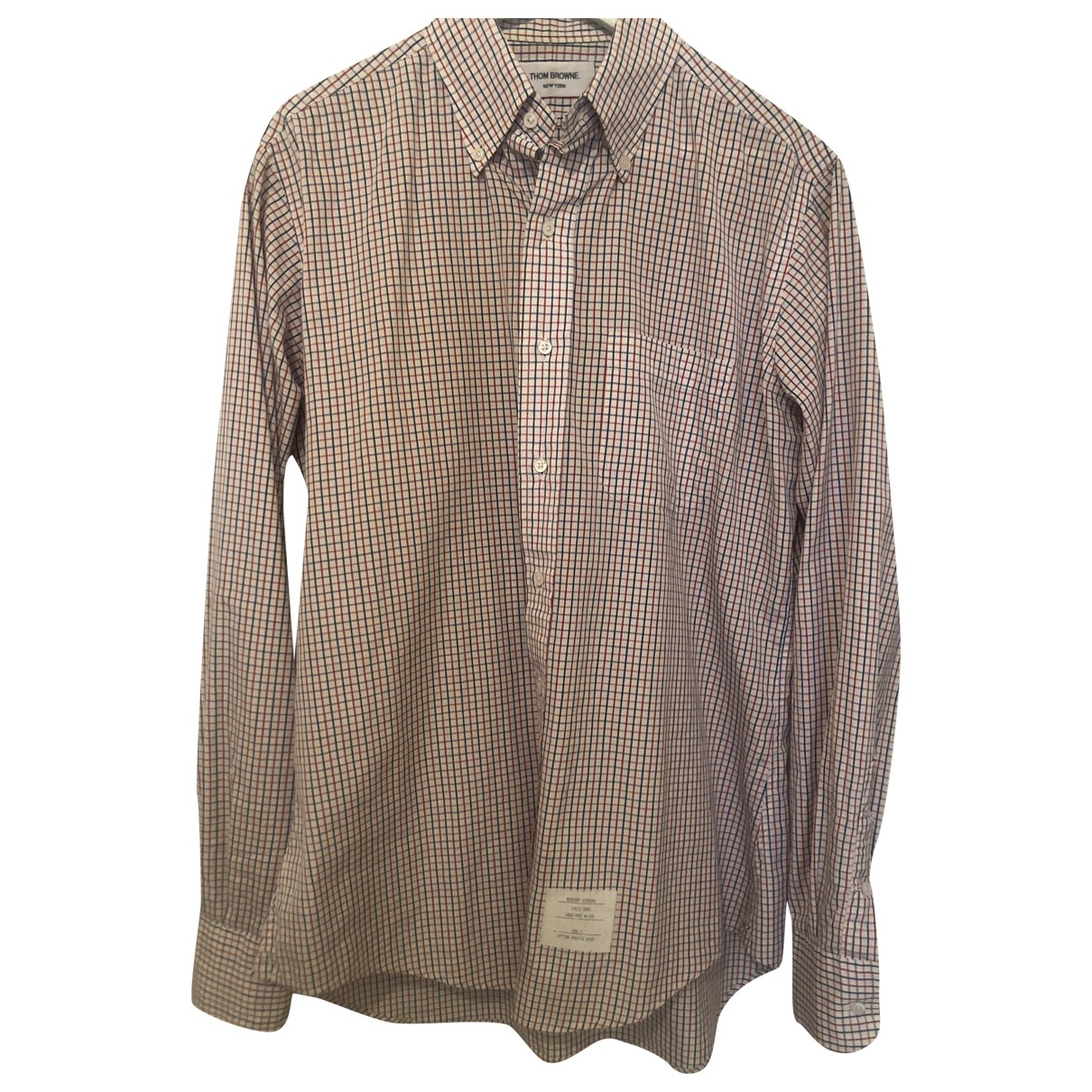 Thom Browne N Multicolour Cotton Shirts for Men L International