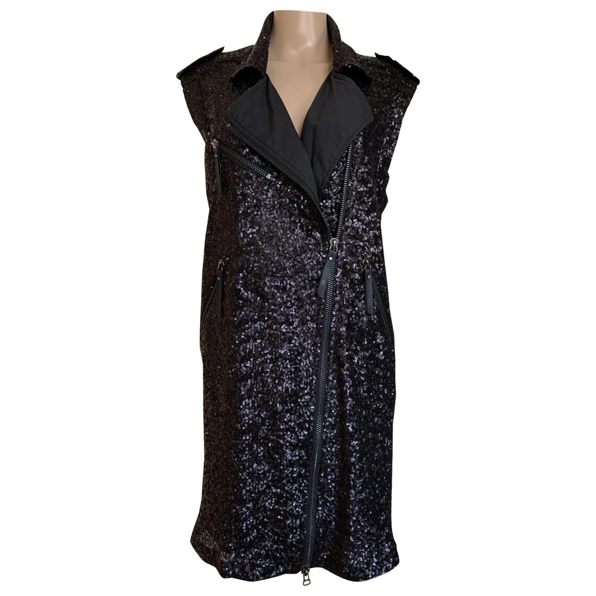 Karl \N Kleid in  Schwarz Polyester