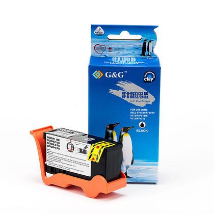 Compatible Dell series24 T109N 330-5287 330-5887 cartouche dencre noire haute capacite - G&G