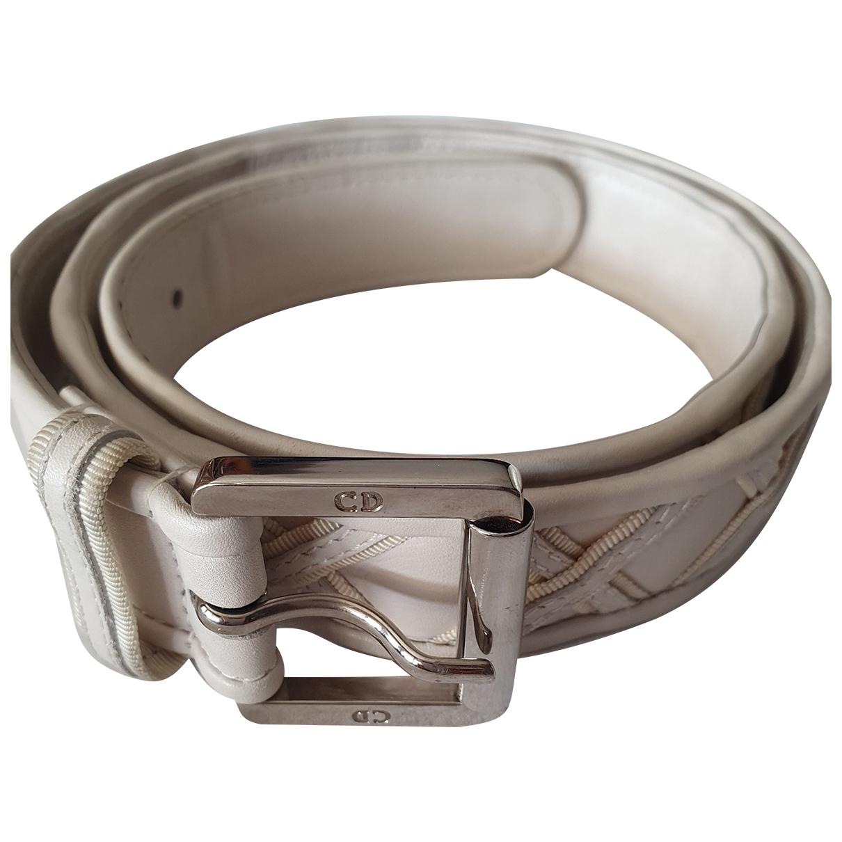 Dior \N Leather belt for Women 85 cm