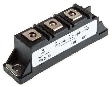 Vishay 150V 200A, Dual Schottky Diode, 3-Pin ADD-A-PAK VS-VSKDS409/150