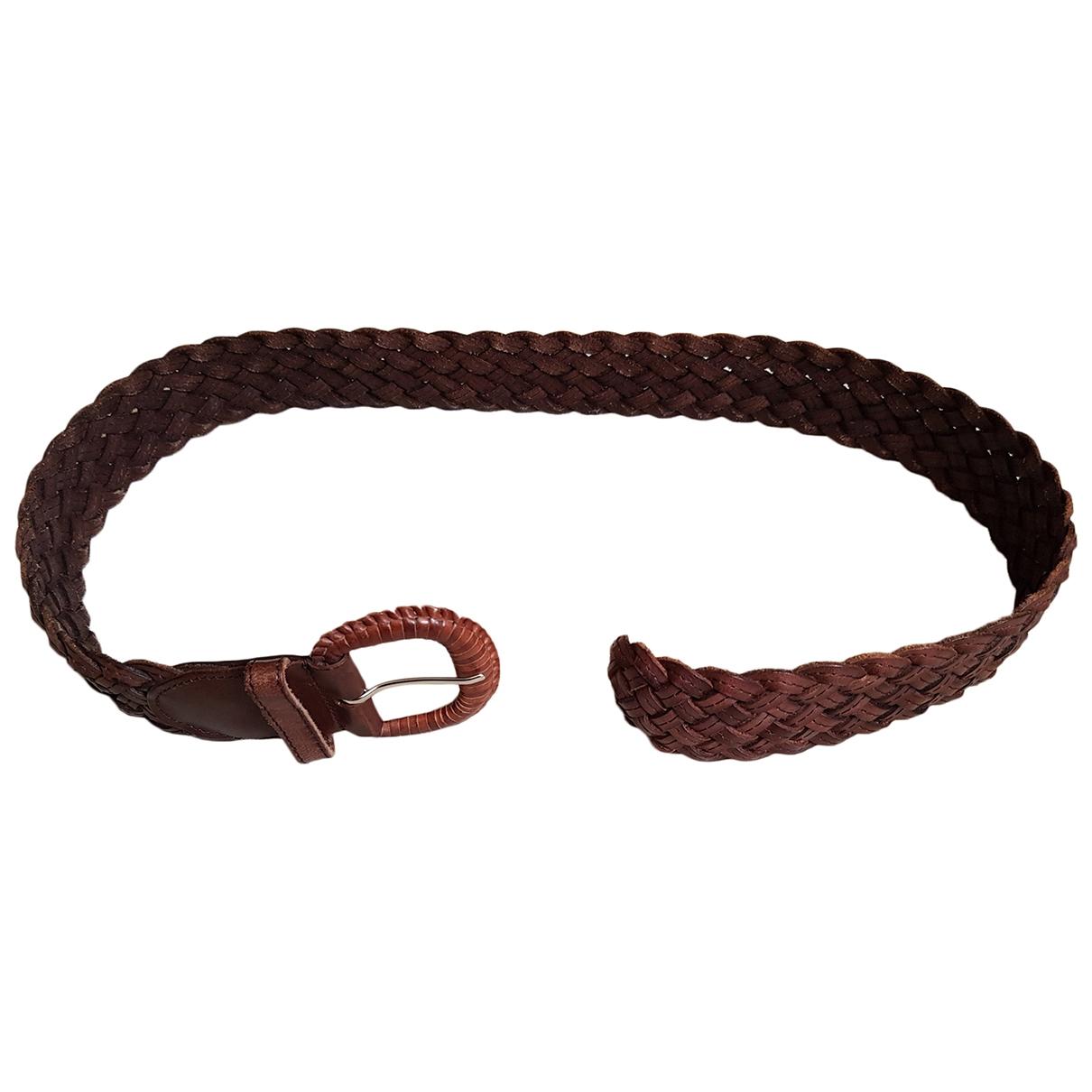 Comptoir Des Cotonniers \N Brown Leather belt for Women M International