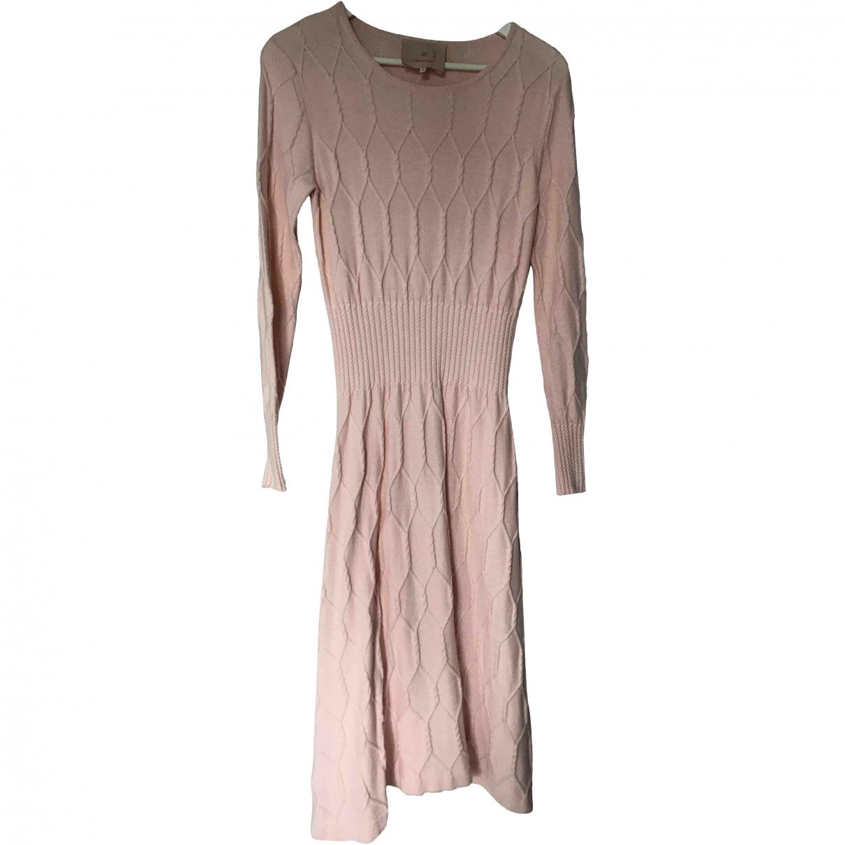 Roksanda Ilincic \N Pink Cotton dress for Women 8 UK
