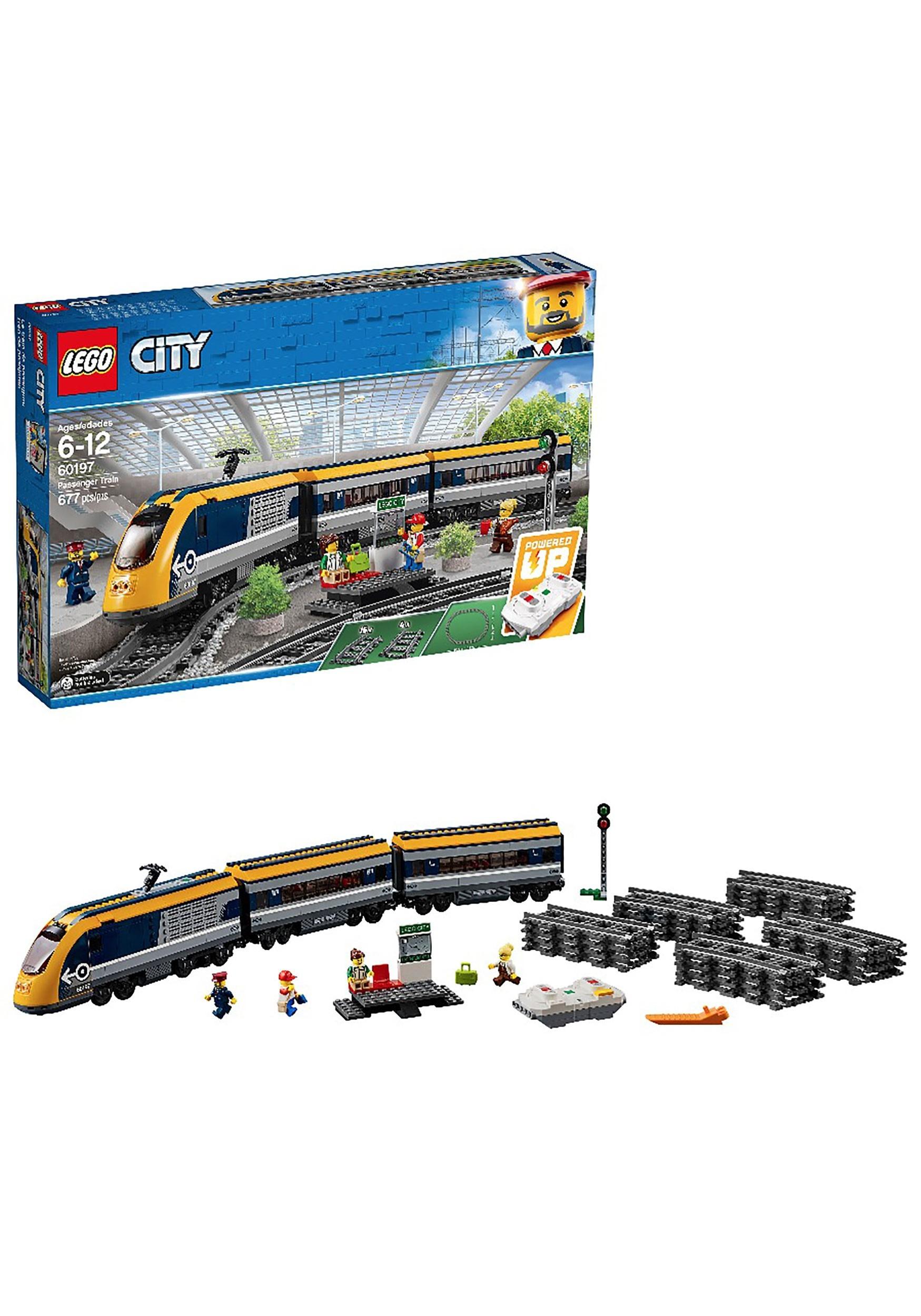 Passenger Train: LEGO City Building Set