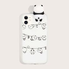 Funda de iphone con panda