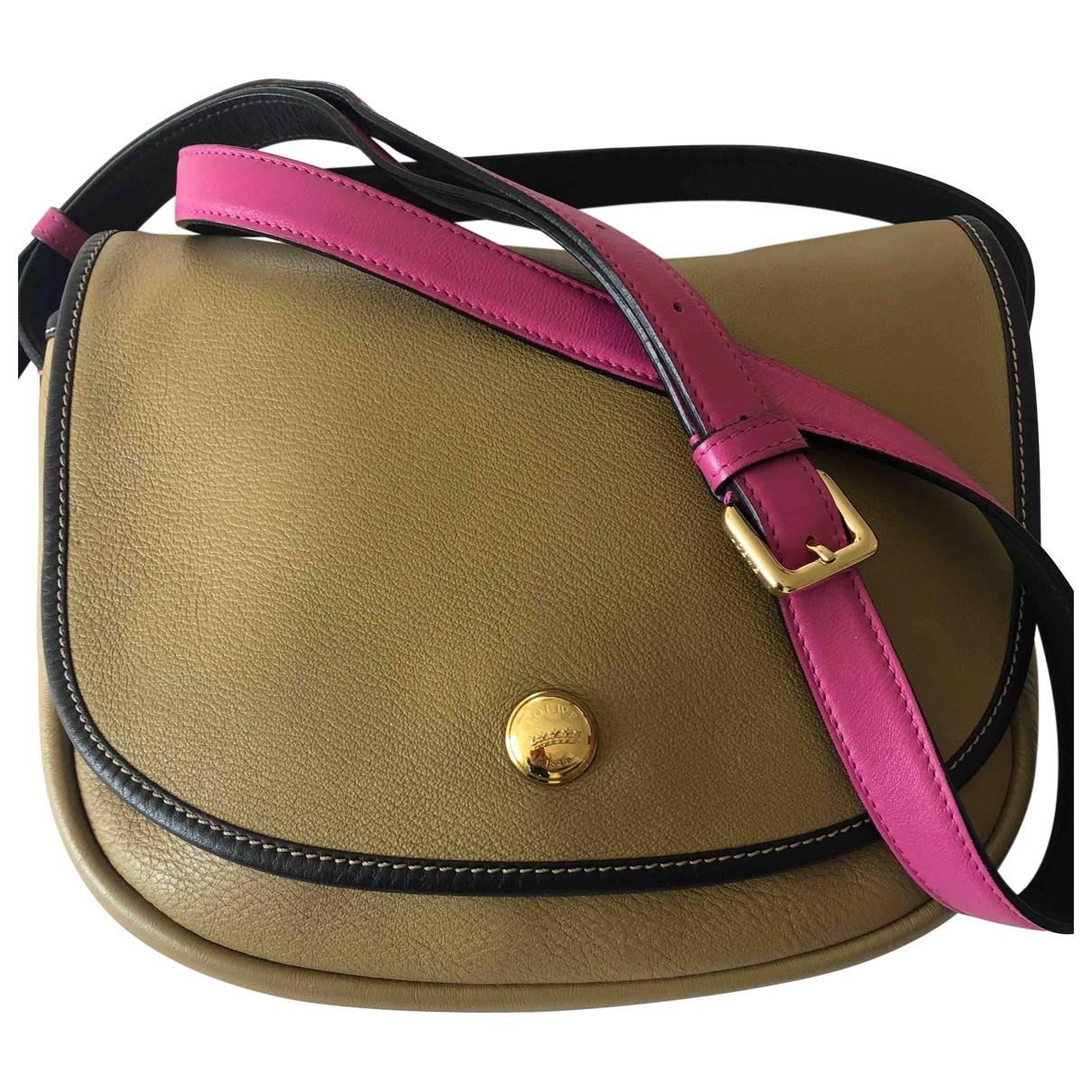 Loewe \N Handtasche in  Beige Leder