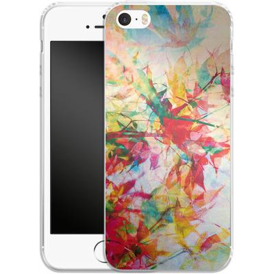 Apple iPhone 5s Silikon Handyhuelle - Abstract Autumn 2 von Mareike Bohmer