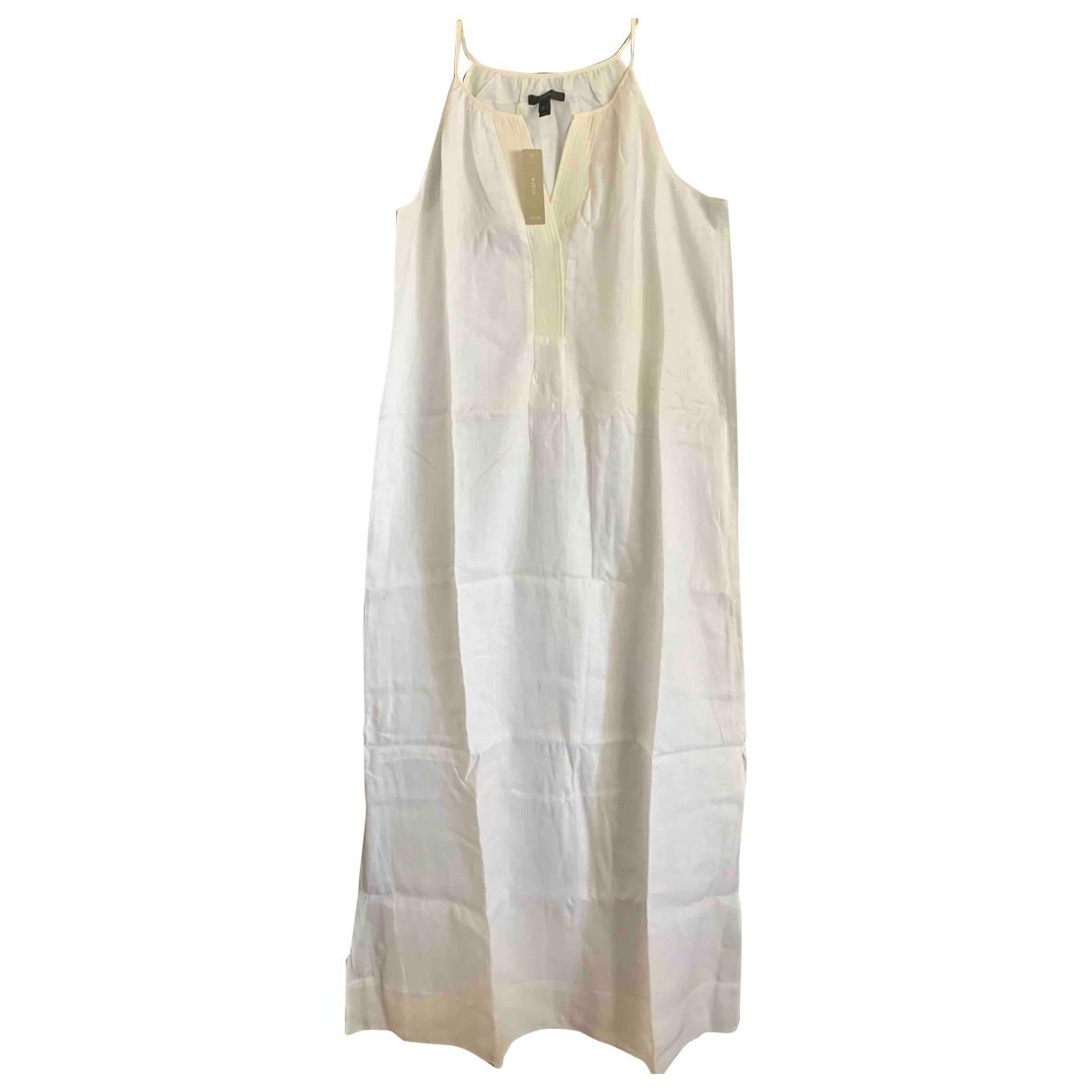 J.crew \N White Cotton dress for Women M International