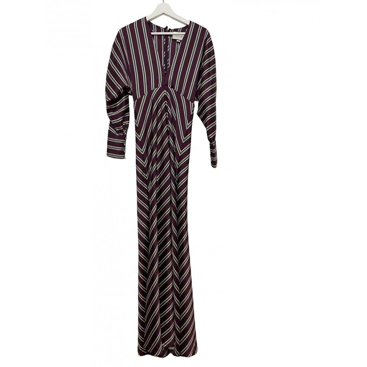 Alexis \N Kleid in  Bunt Polyester