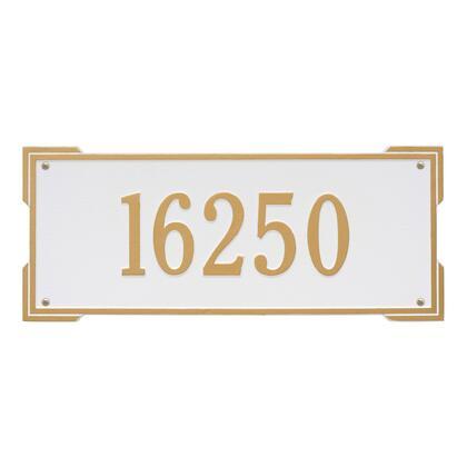1019WG Personalized Roanoke Plaque - Estate -Wall - 1 Line in