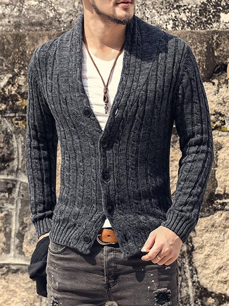 Ericdress V-Neck Standard Plain Slim European Sweater