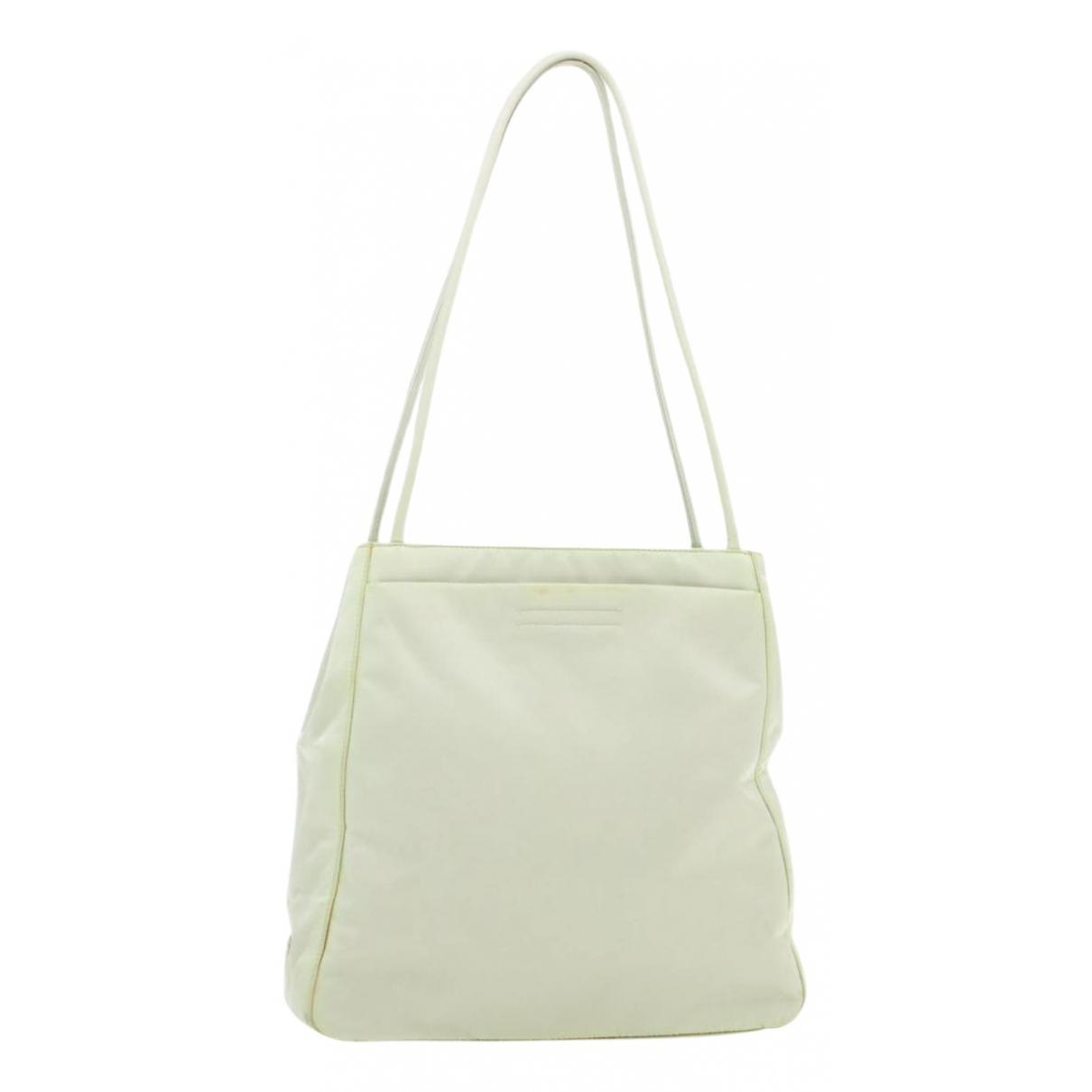 Prada \N Handtasche in  Weiss Synthetik
