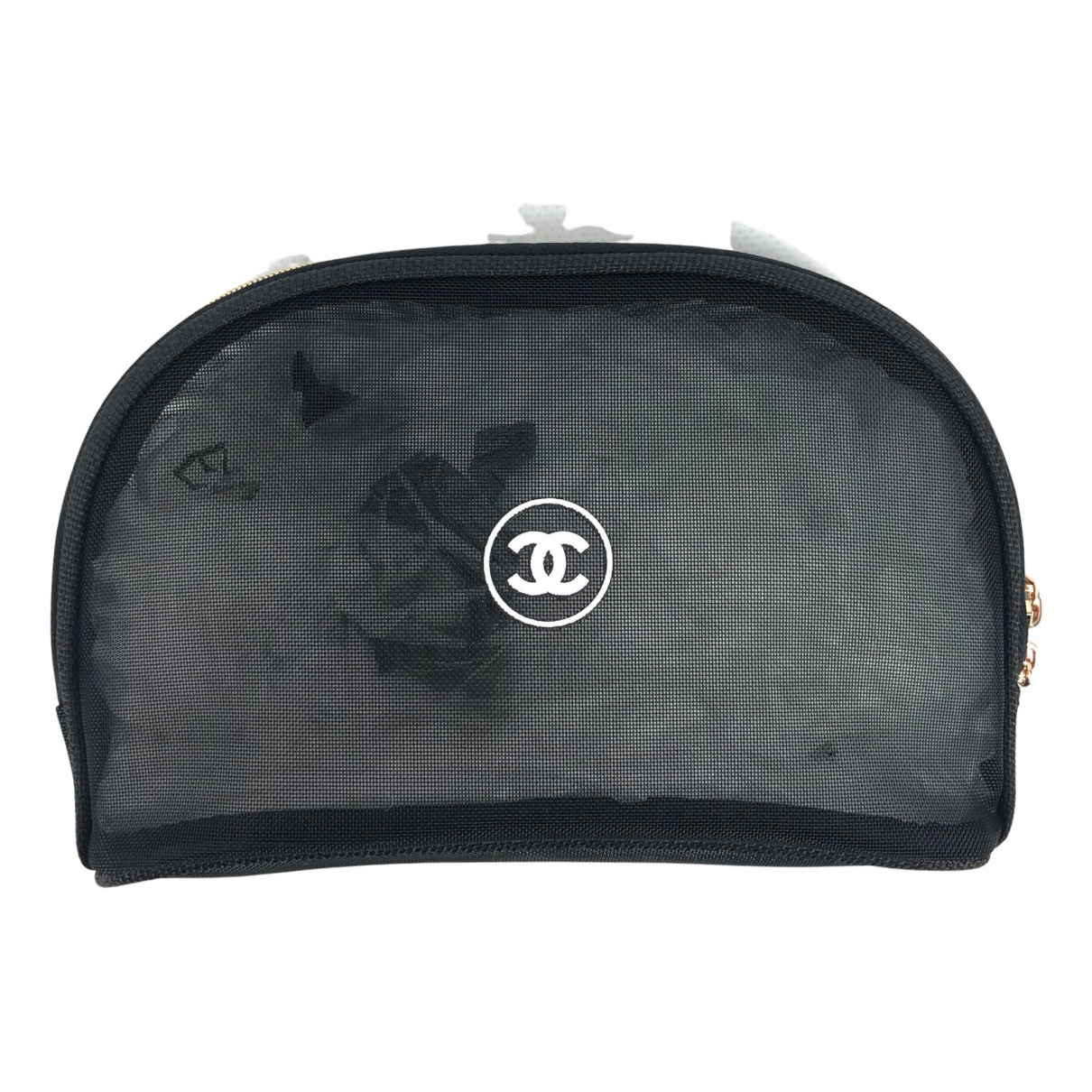 Chanel \N Reisetasche in  Schwarz Synthetik