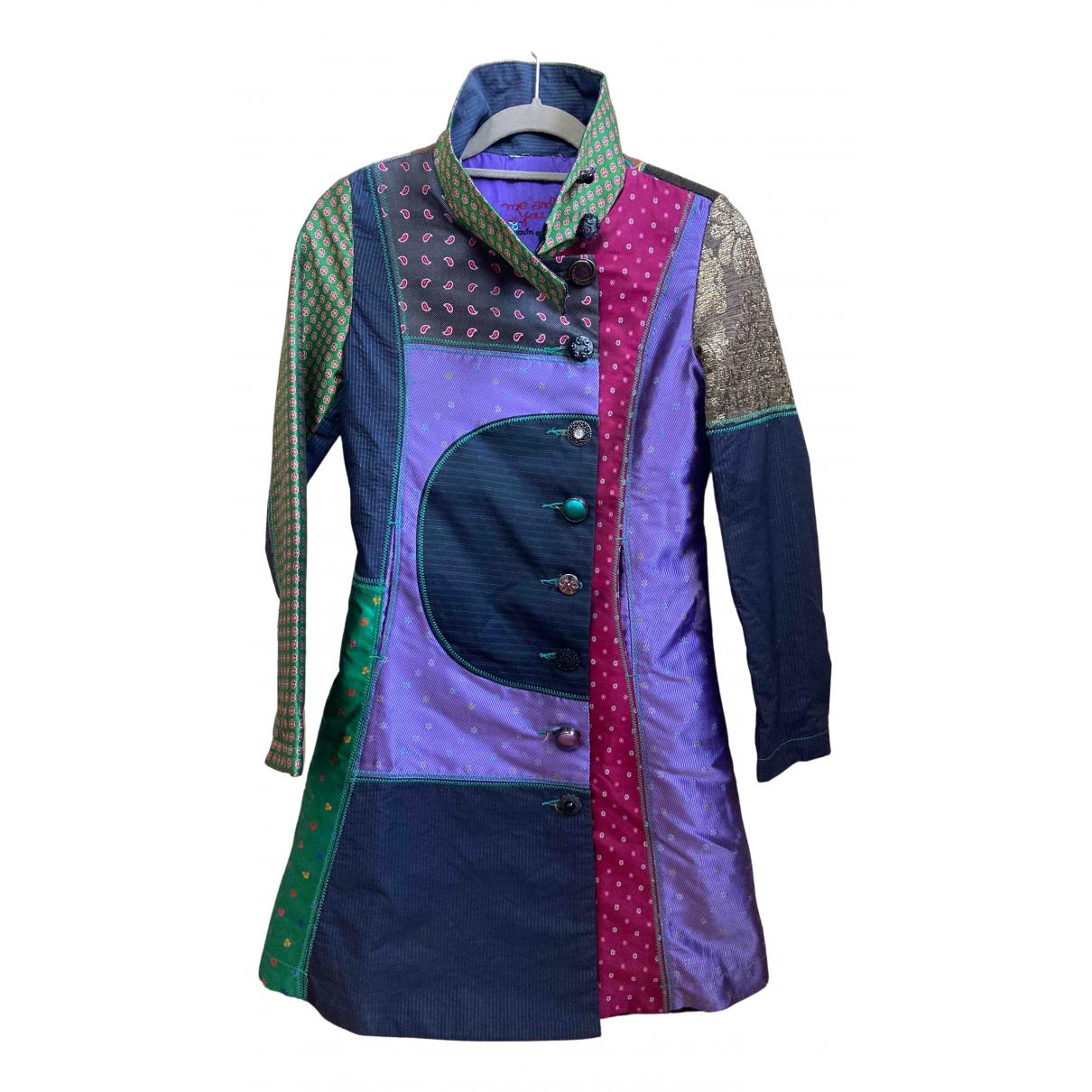 Desigual - Manteau   pour femme en coton - multicolore