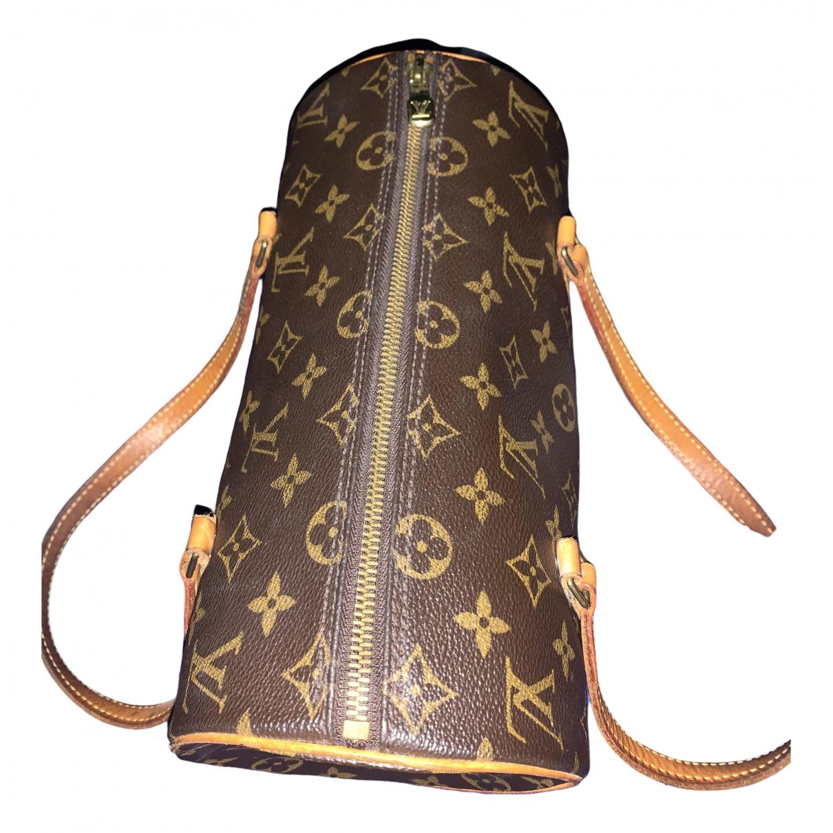 Louis Vuitton Papillon Brown Leather handbag for Women \N