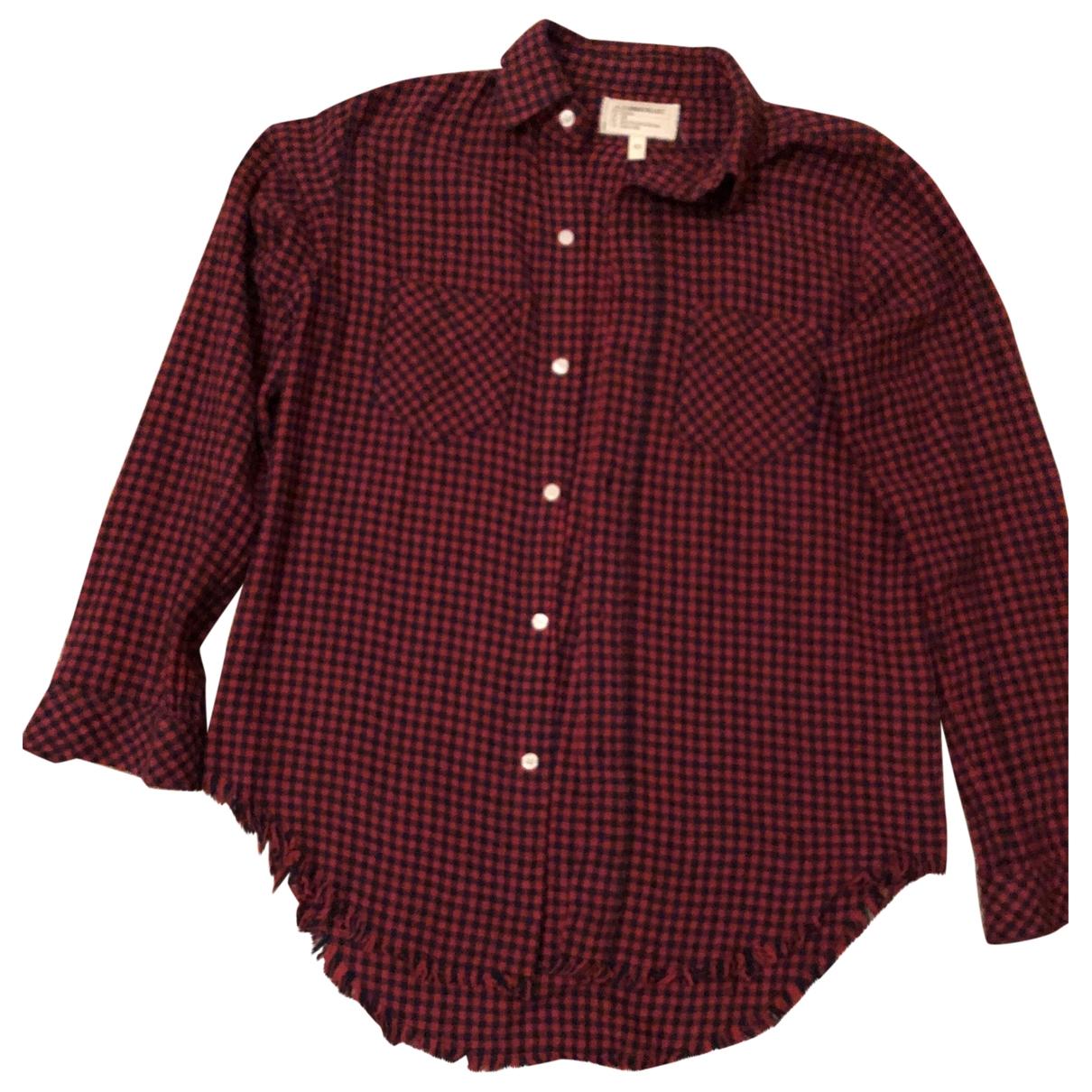Equipment - Top   pour femme en coton - rouge