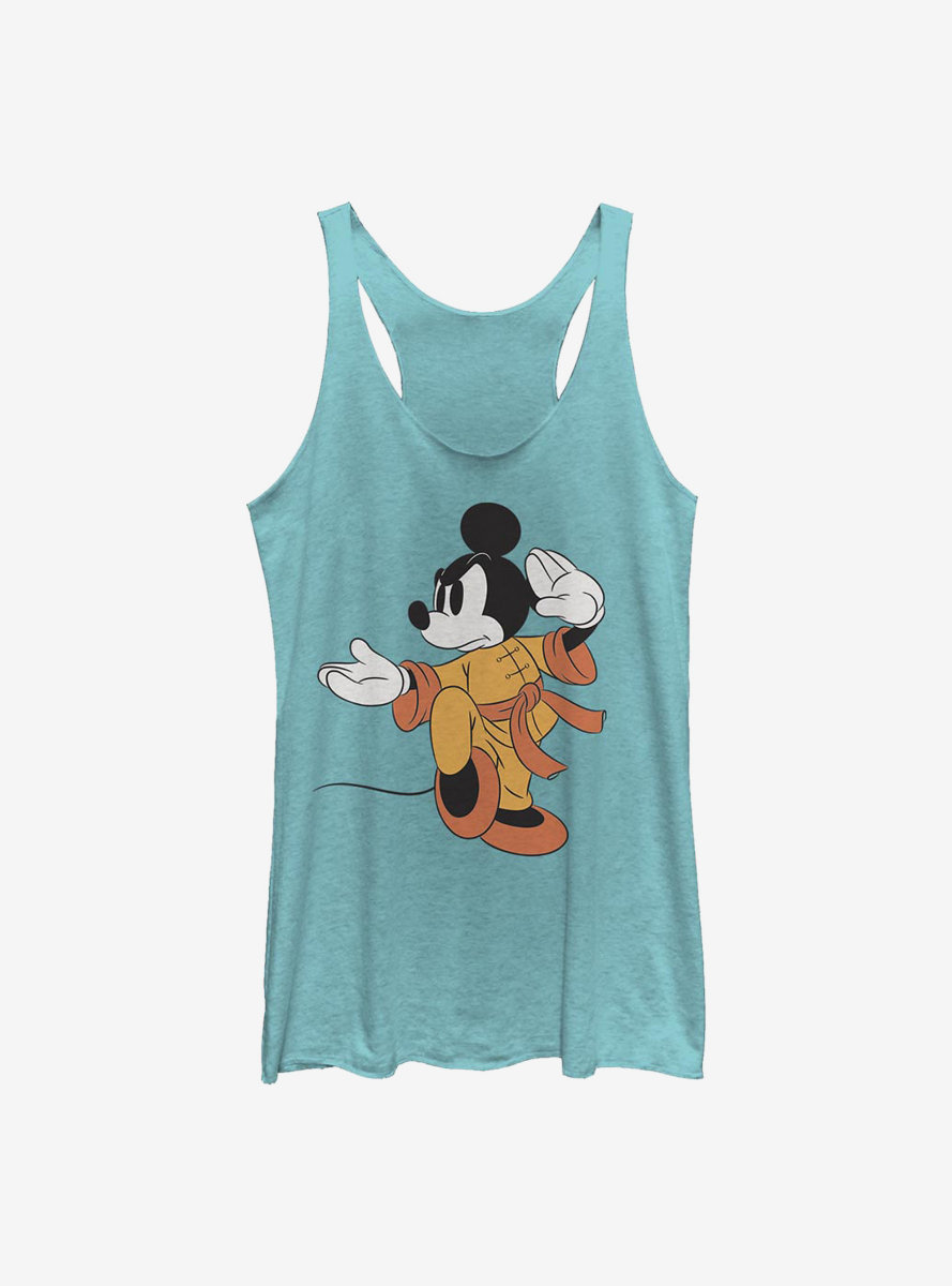 Disney Mickey Mouse Kung Fu Mickey Womens Tank Top
