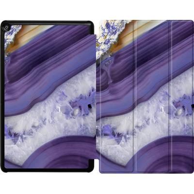 Amazon Fire HD 10 (2017) Tablet Smart Case - Purple Agate von Emanuela Carratoni