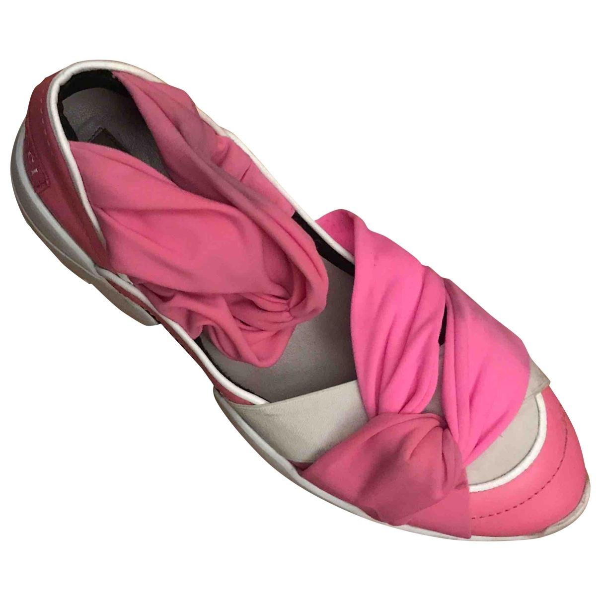 Emilio Pucci - Baskets   pour femme en caoutchouc - rose