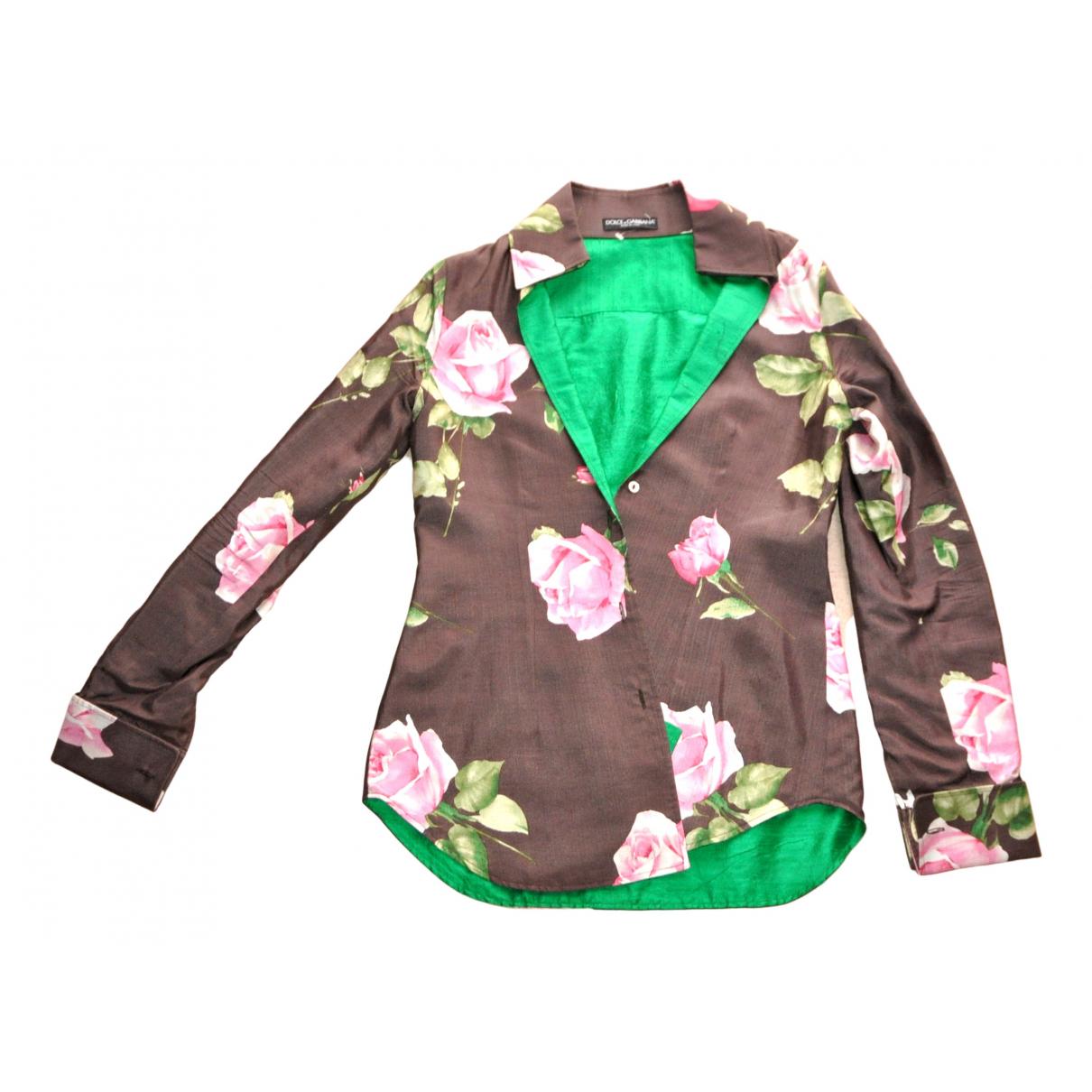 Dolce & Gabbana - Veste   pour femme en soie