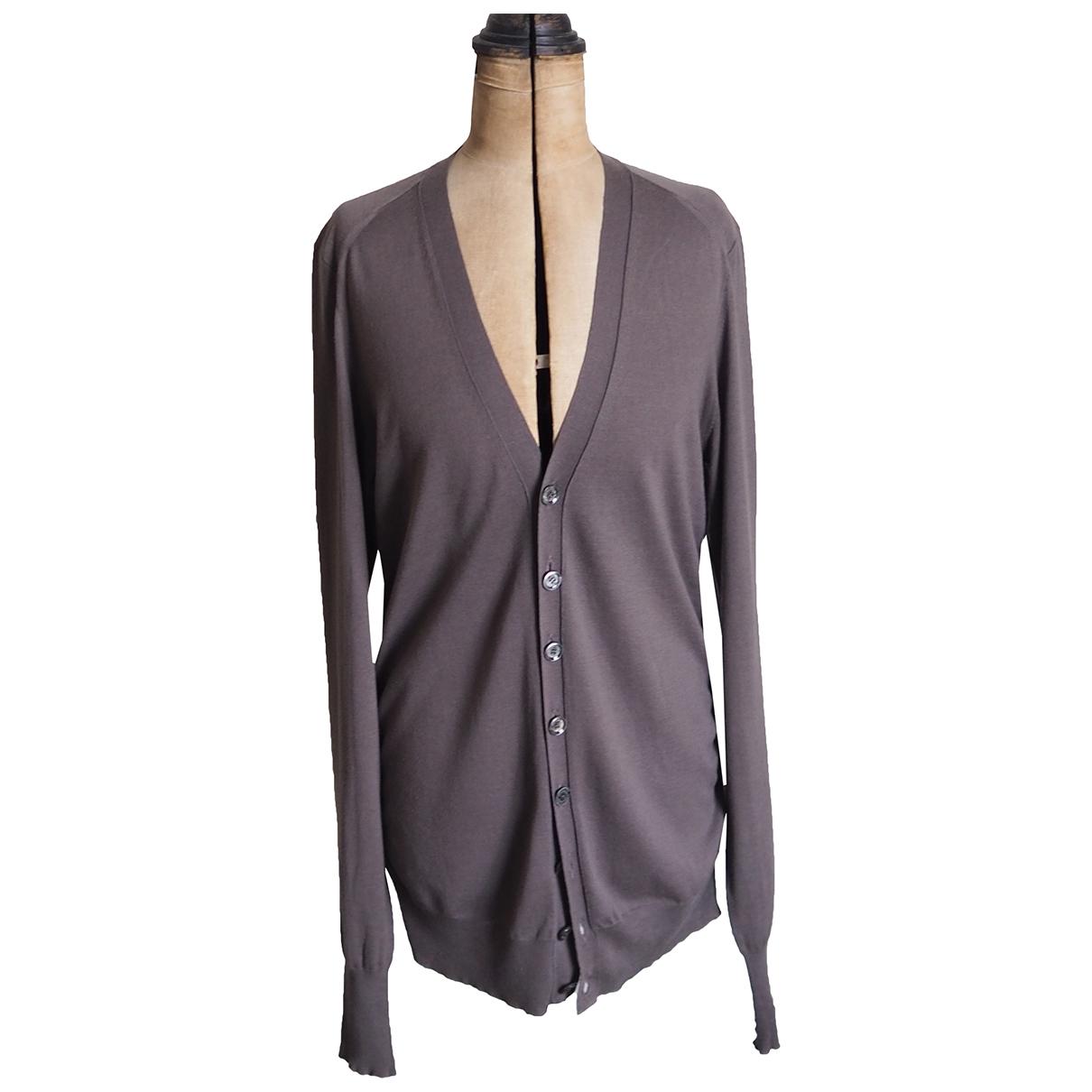 Burberry \N Anthracite Cashmere Knitwear & Sweatshirts for Men M International