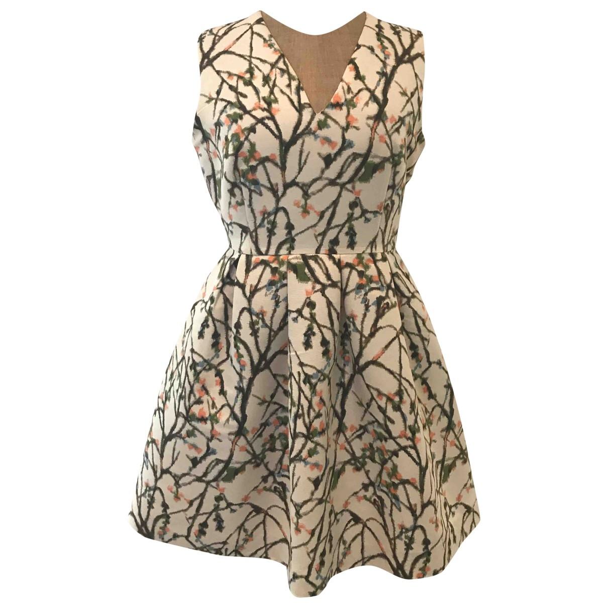 Essentiel Antwerp \N Kleid in  Ecru Polyester