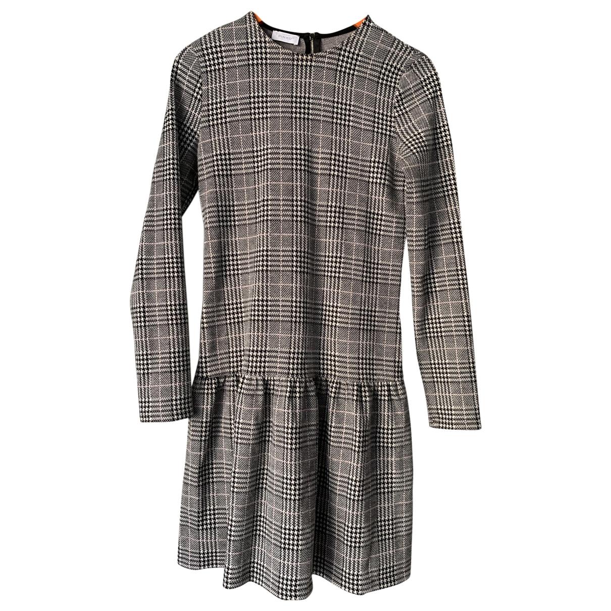 Pinko \N Kleid in  Grau Polyester
