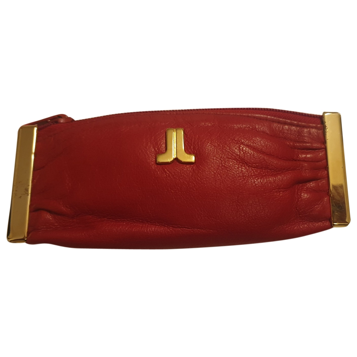 Lanvin \N Red Leather Purses, wallet & cases for Women \N