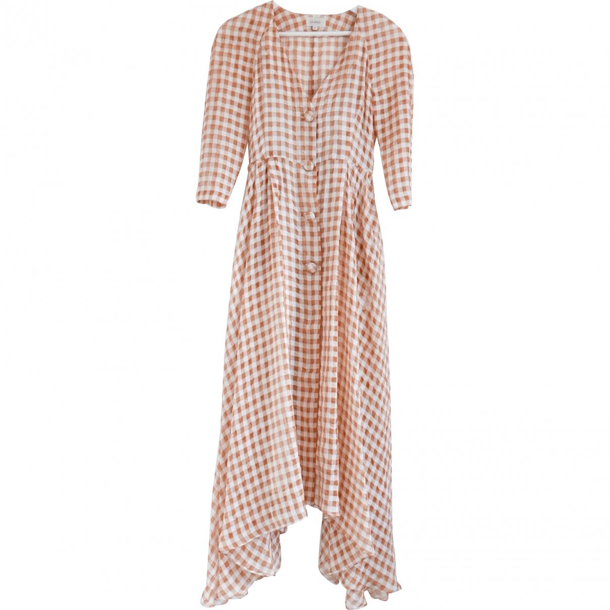 Isa Arfen \N Kleid in  Orange Viskose