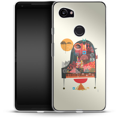 Google Pixel 2 XL Silikon Handyhuelle - Sound of Joy von Victoria Topping