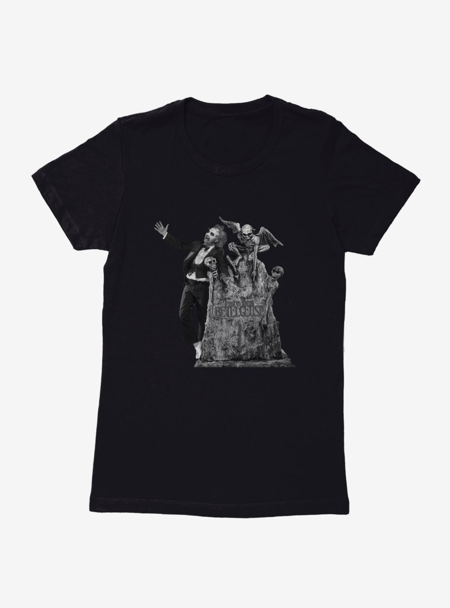 Beetlejuice Tombstone Womens T-Shirt