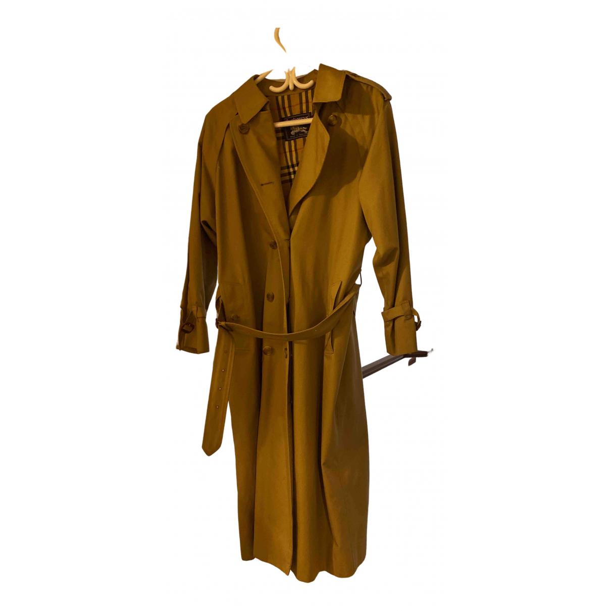 Burberry N Beige Cotton Trench coat for Women 14 UK