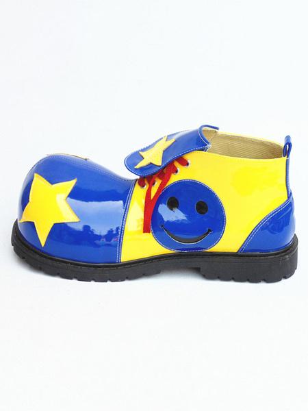 Milanoo Circus Clown Shoes Jumbo Colorful Footwear
