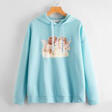 Angel Graphic Sweatshirt