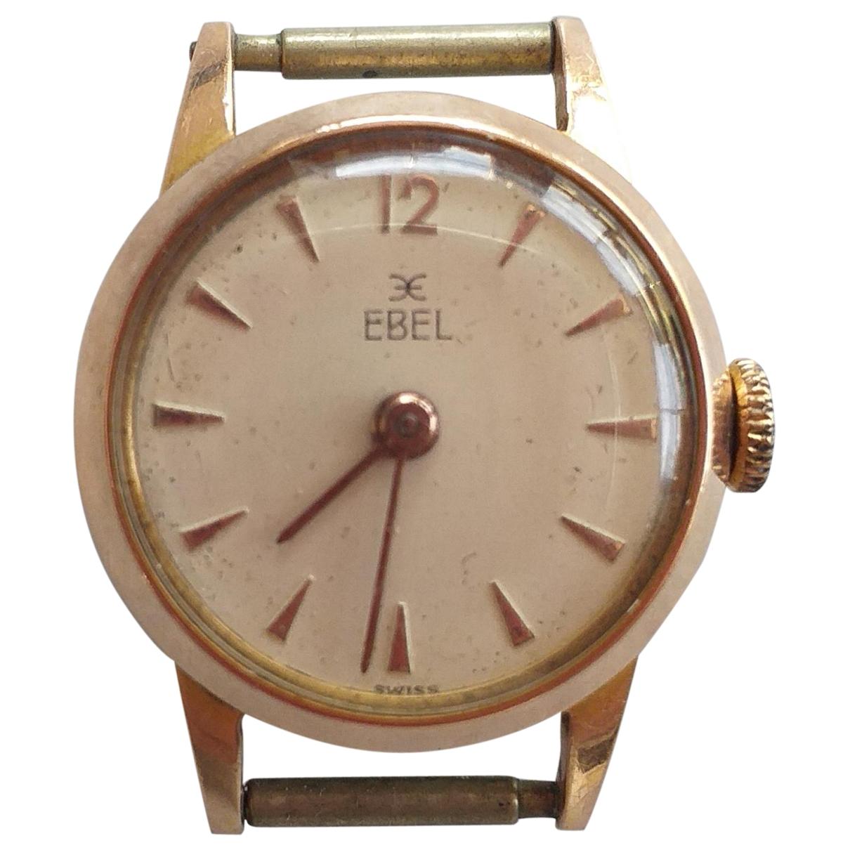 Ebel \N Uhr in  Gold Vergoldet