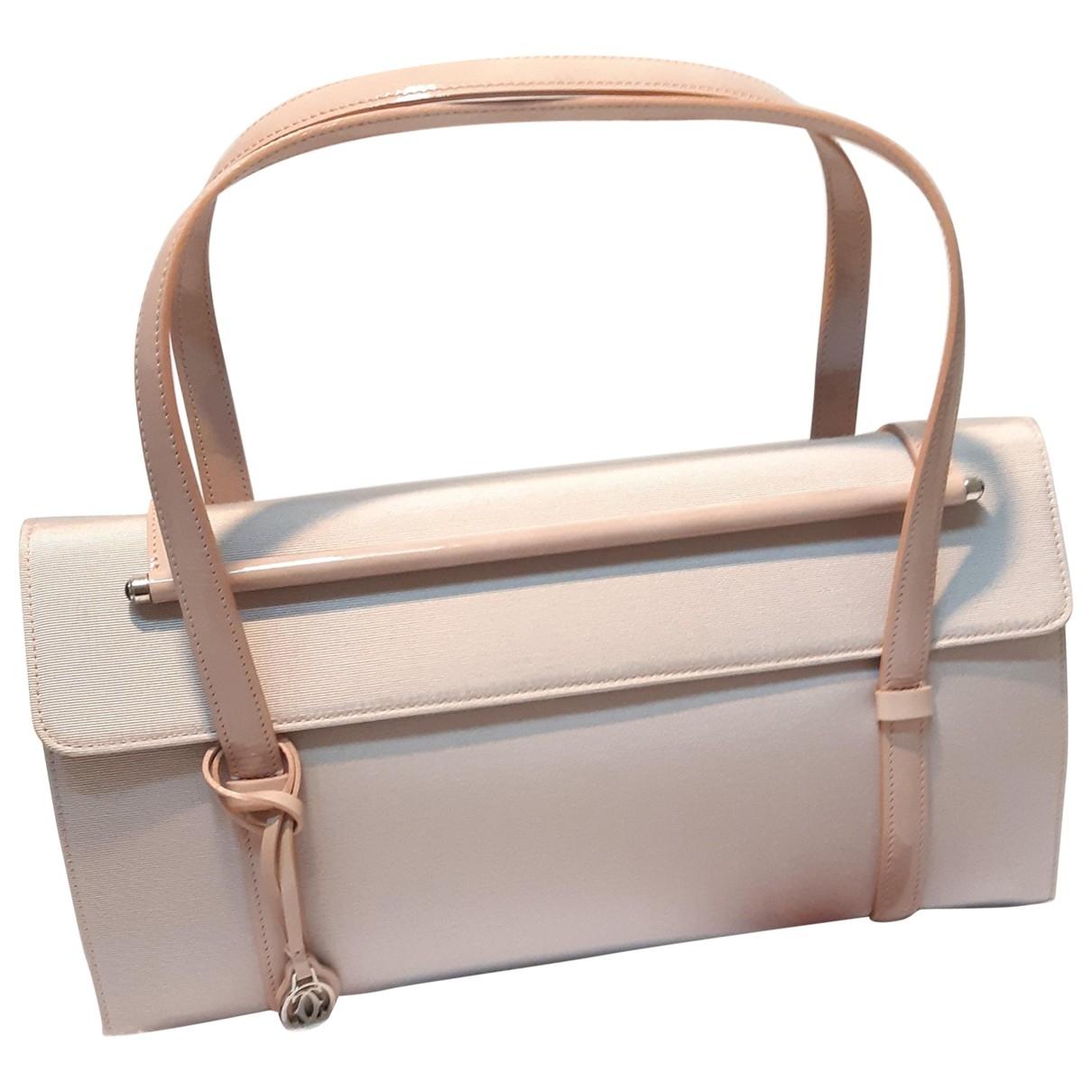 Cartier \N Pink Cloth handbag for Women \N