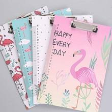 Random Flamingo File Clipboard 1pc