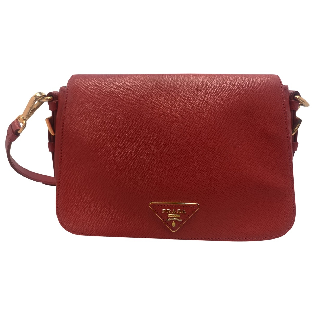 Prada \N Red Leather handbag for Women \N