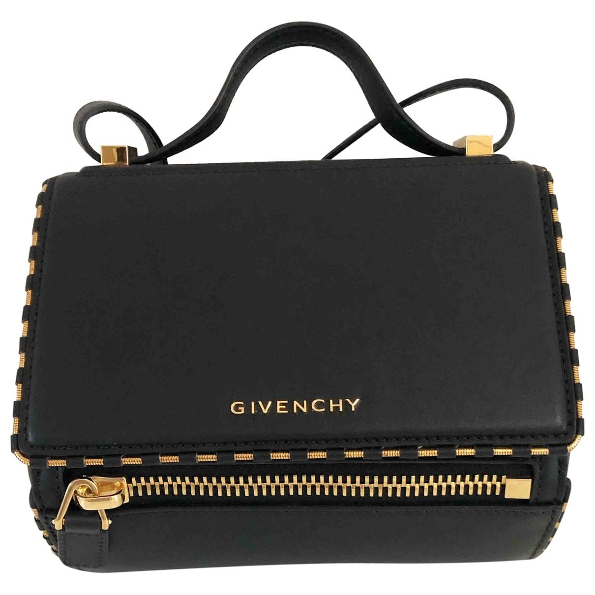 Givenchy Pandora Box Black Leather handbag for Women \N